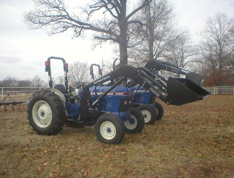 FarmTrac 545 with loader with Specifications