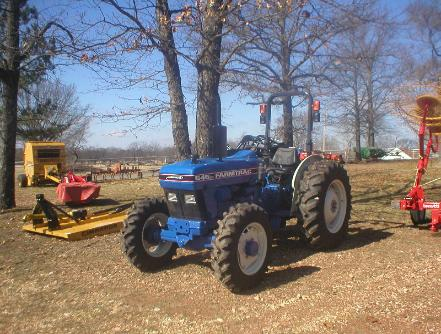 FarmTrac 545 DTC with Specifications on