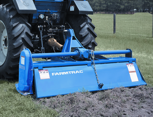 FarmTrac makes a rotary tiller to meet every need.  Get your FarmTrac Rotary Tiller at Sundowner Tractor today!  Call 918-696-5965